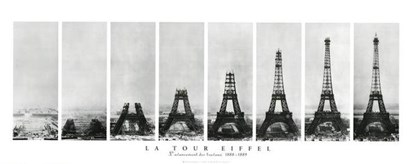 La Tour Eiffel art print