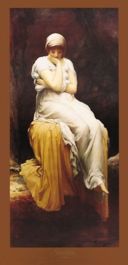 Solitude by Frederic Leighton art print