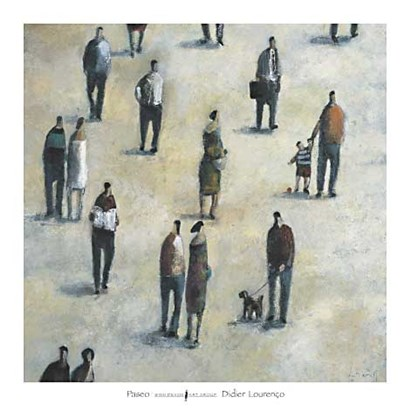 Paseo by Didier Lourenco art print