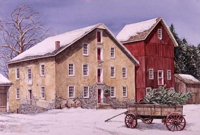 A Winter's Day by Dan Campanelli art print