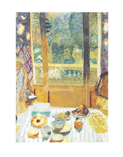 The Breakfast Room, 1930 by Pierre Bonnard art print