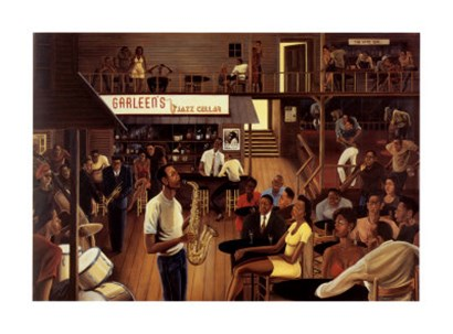 Jazz from the Cellar by Ernest Watson art print