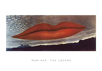 The Lovers by Man Ray art print
