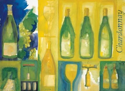 Chardonnay by Michael Clark art print