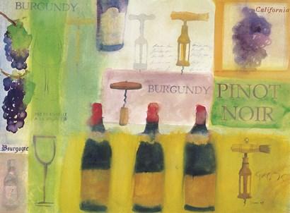 Pinot Noir by Michael Clark art print