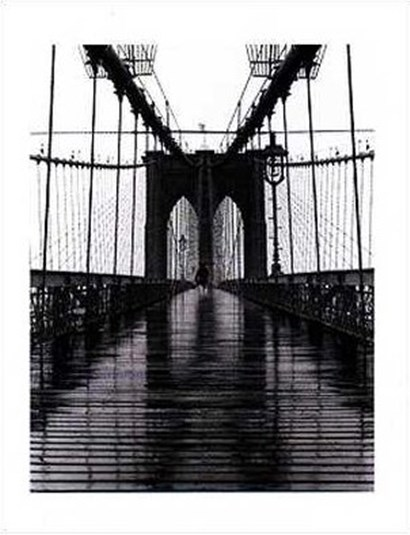 Brooklyn Bridge by Christopher Bliss art print