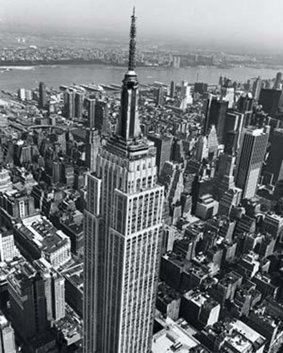 Empire State Building by Christopher Bliss art print