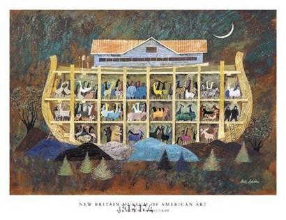 Story of Noah's Ark by Arthur Seiden art print