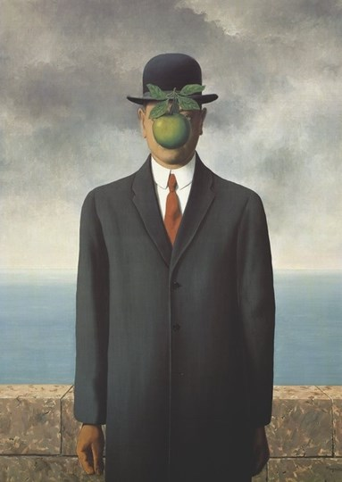 Son Of Man by Rene Magritte art print