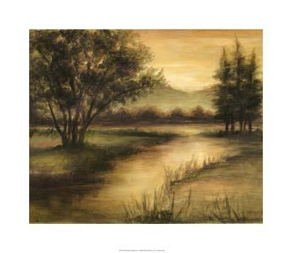 Midsummer Reflections I by Ethan Harper art print