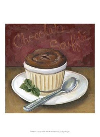 Chocolate Souffle by Megan Meagher art print