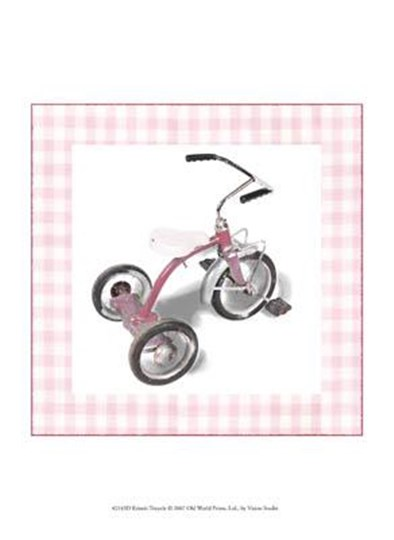 Krista's Tricycle by Vision Studio art print