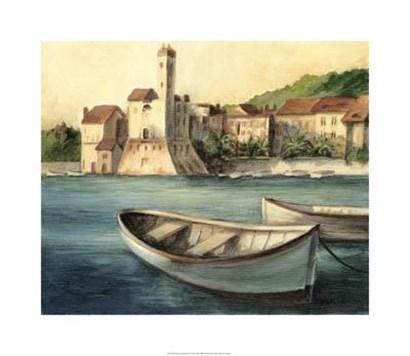 Mediterranean Harbor II by Ethan Harper art print