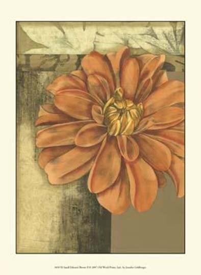 Small Ethereal Bloom II by Jennifer Goldberger art print