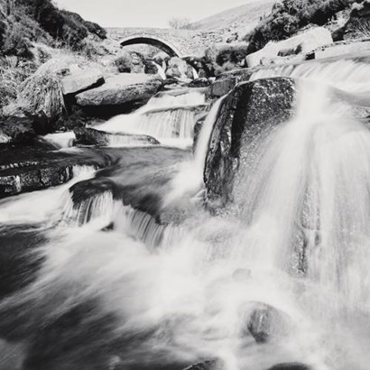 Three Shires Head Falls, Peak District, art print