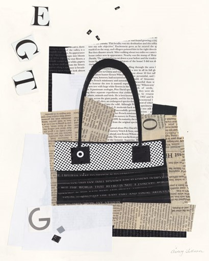 Paper Bag I by Avery Tillmon art print