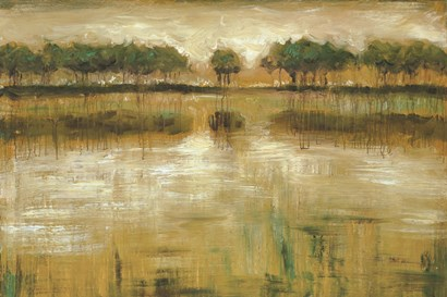 Tiverton Lake by Jack Roth art print