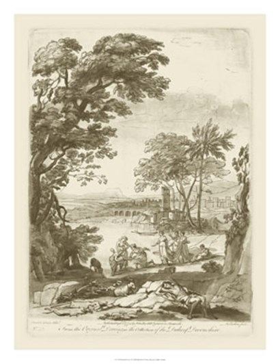Pastoral View I by Claude Lorrain art print