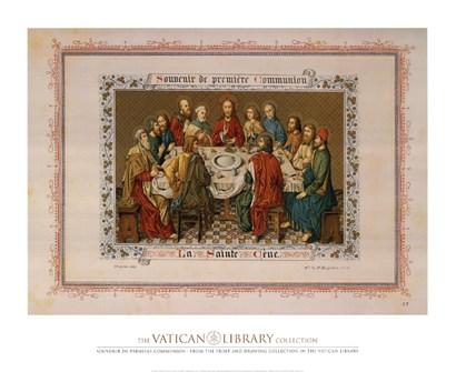 Souvenir De Premiere Communion, (The Vatican Collection) art print