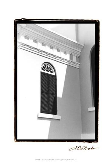 Bermuda Architecture III by Laura Denardo art print