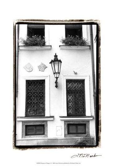 Glimpses of Prague V by Laura Denardo art print