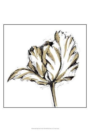 Small Tulip Sketch III by Ethan Harper art print