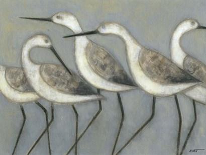 Shore Birds I by Norman Wyatt Jr. art print