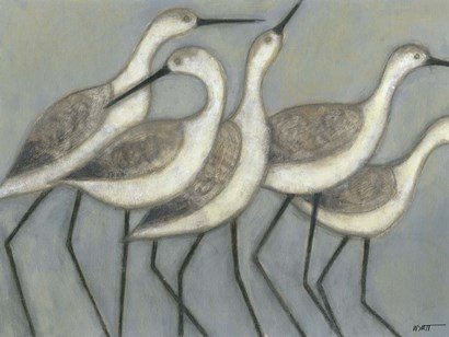 Shore Birds II by Norman Wyatt Jr. art print
