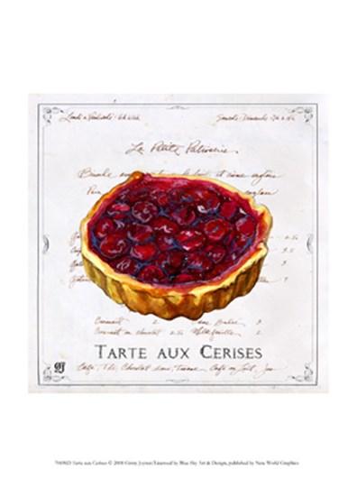 Tarte aux Cerises by Ginny Joyner art print