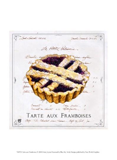 Tarte aux Framboises by Ginny Joyner art print