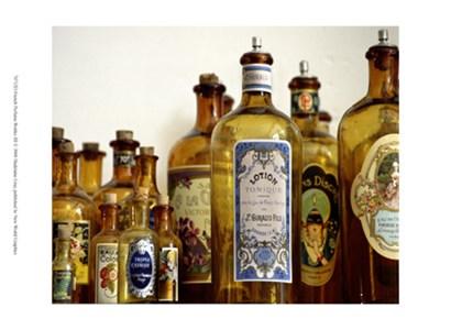 French Perfume Bottles III by Madelaine Gray art print