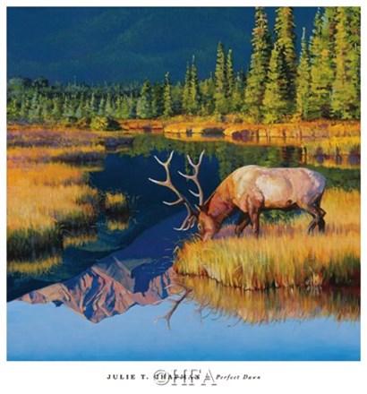 Perfect Dawn by Julie Chapman art print
