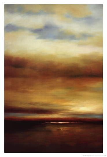 Sound of the Waves I by Paul Bell art print