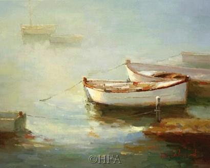Misty Morn by David Lakewood art print