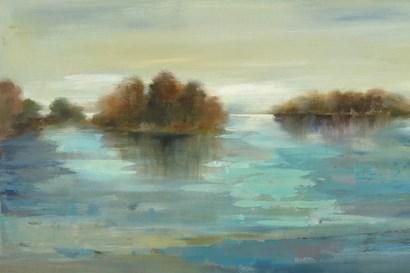 Serenity on the River by Silvia Vassileva art print