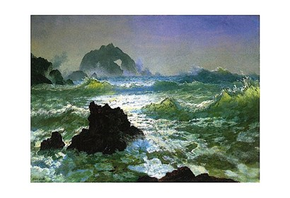 Seal Rock by Albert Bierstadt art print