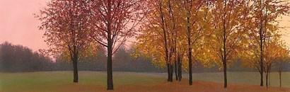 Autumn Dawn, Maples by Elissa Gore art print