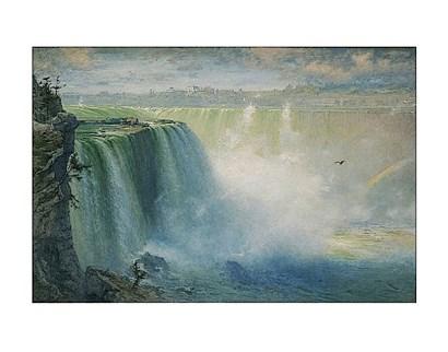 Blue Niagara, 1884 by George Inness art print