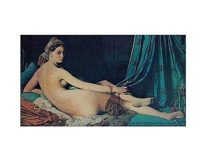 The Grand Odalisque, 1814 by Jean-Auguste-Dominique Ingres art print