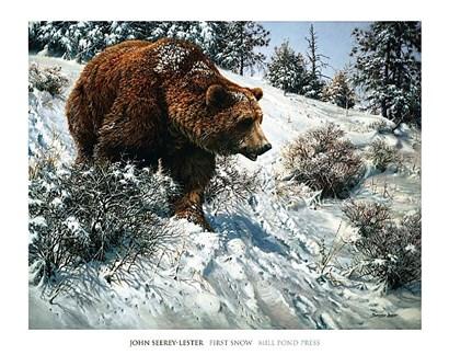 First Snow by John Seerey-Lester art print