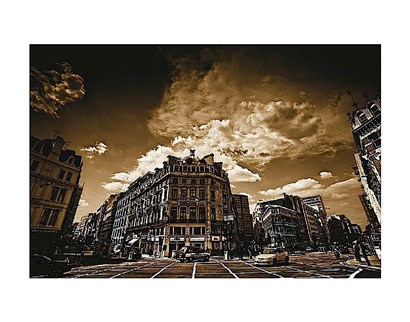 Smithfield, London by Marcin Stawiaz art print