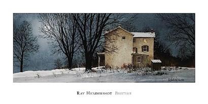 Bedtime by Ray Hendershot art print