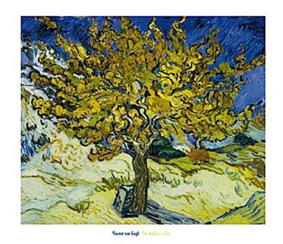 The Mulberry Tree, 1889 by Vincent Van Gogh art print