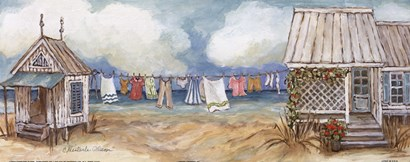 Fresh Laundry II by Charlene Olson art print