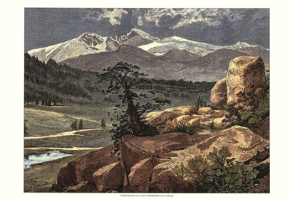 Mountain View I art print