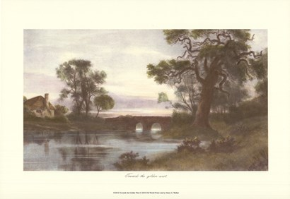 Towards the Golden West by Henry G. Walker art print