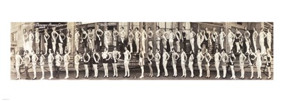 Inner City Beauties, Atlantic City 1926 art print