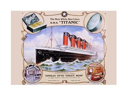 R.M.S. Titanic art print