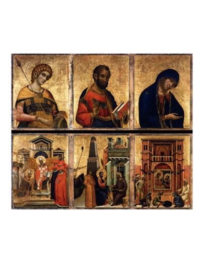 Altarpiece art print