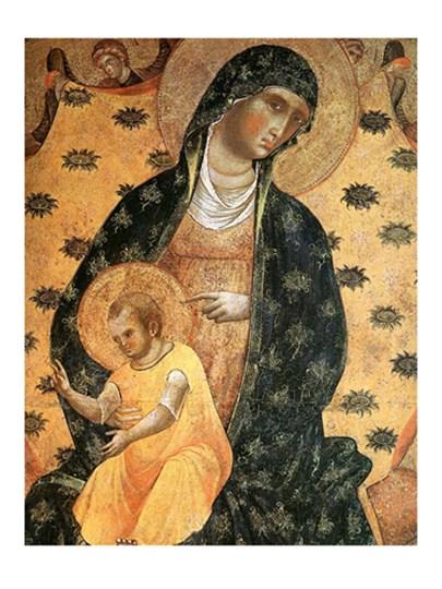 Madonna Renaissance art print